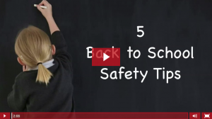 5 Back to School Safety Tips