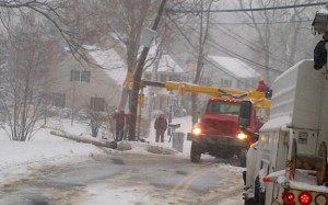 New England Power Outage Planning