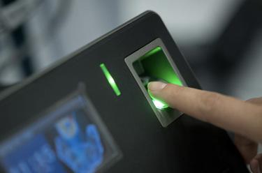 commercial access control finger print reader