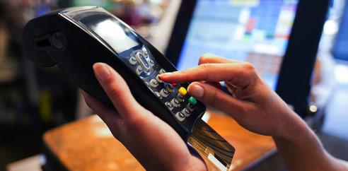 hand held credit card reader