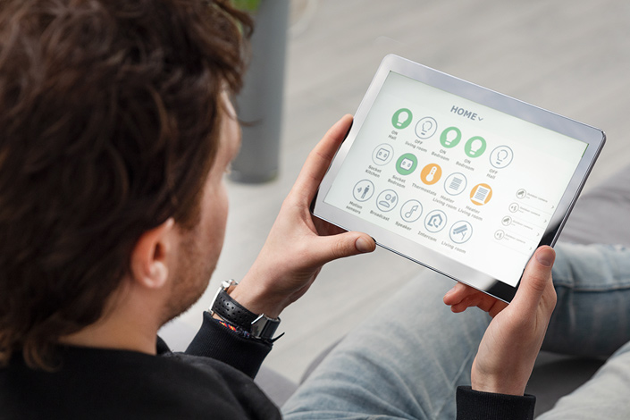 home tablet controller